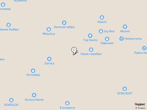 MF на карте Воронежа
