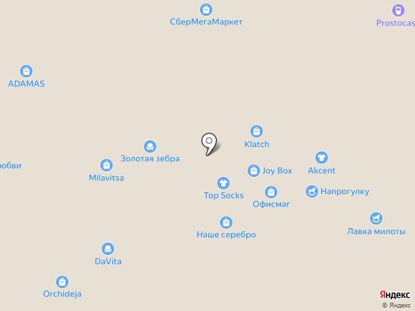 Детский сезон на карте Воронежа