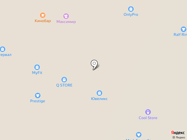 Итальянское серебро на карте Воронежа
