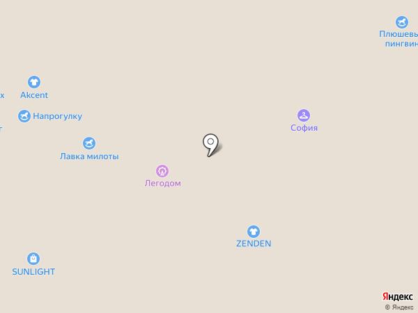 Детский шаг на карте Воронежа