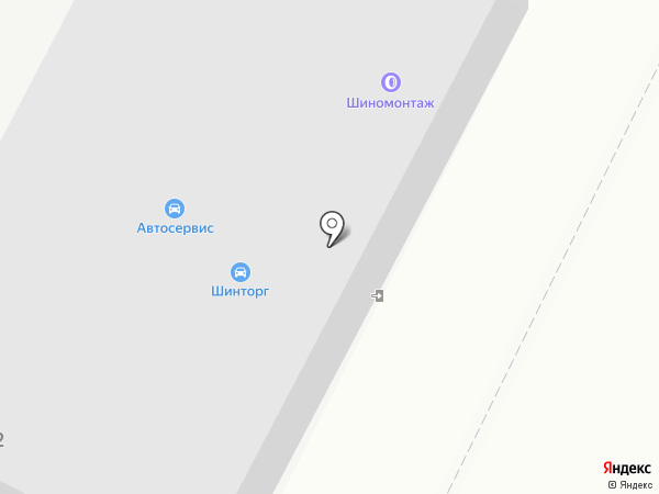 Шинторг на карте Воронежа