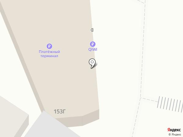 Киберплат на карте Воронежа