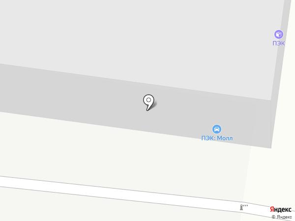Спецмашпривод на карте Воронежа