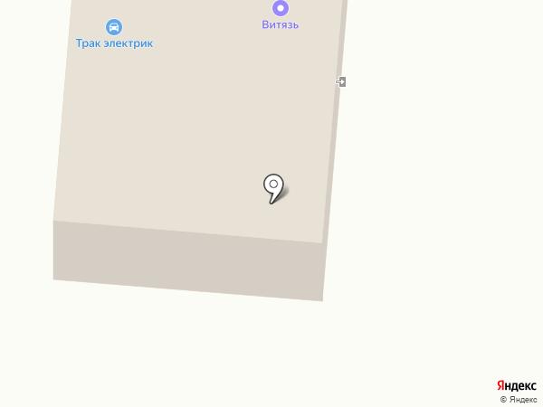 Мега Авто на карте Воронежа