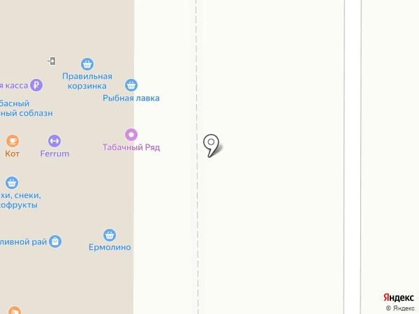 Боровое на карте Воронежа