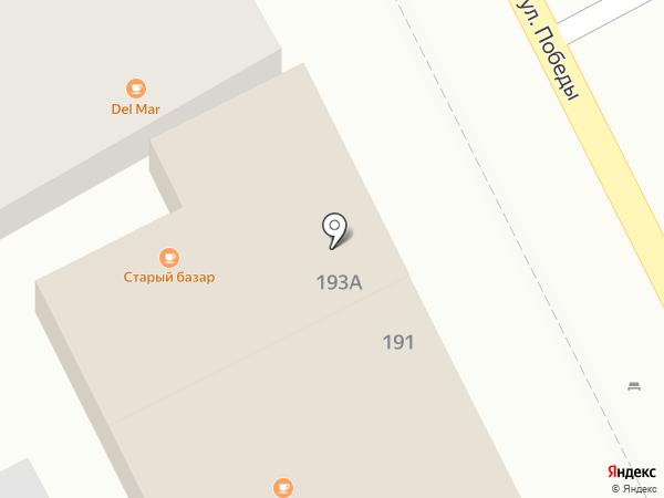 Василёк на карте Сочи
