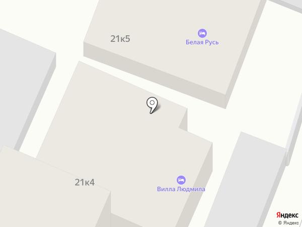 Ирина на карте Сочи