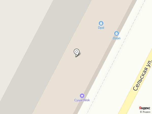 Надежда на карте Воронежа