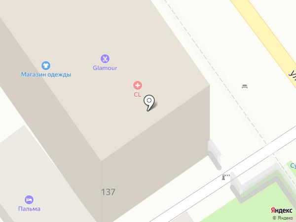 Пальма на карте Сочи