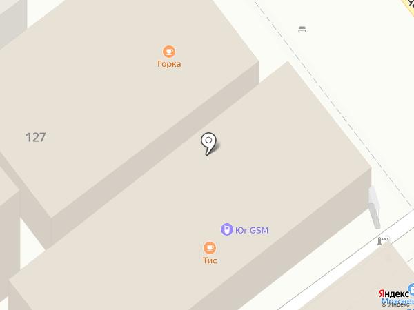 ТИС на карте Сочи