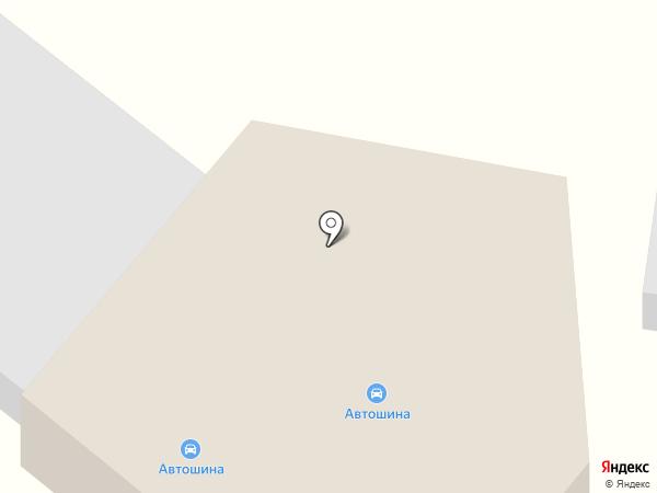 АвтоШина на карте Воронежа