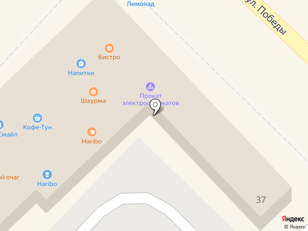 Кофе-тун на карте Сочи