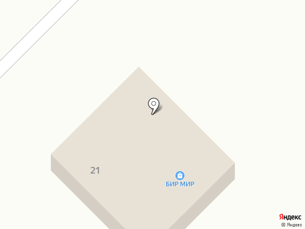 Смородина на карте Отрадного
