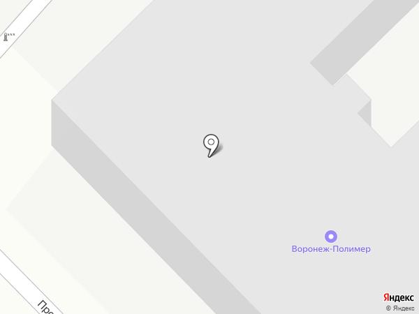 Воронеж-Полимер на карте Отрадного
