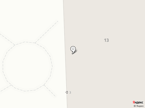 Веста на карте Отрадного