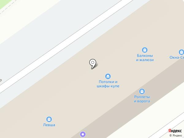 ТУК-ТУК на карте Сочи