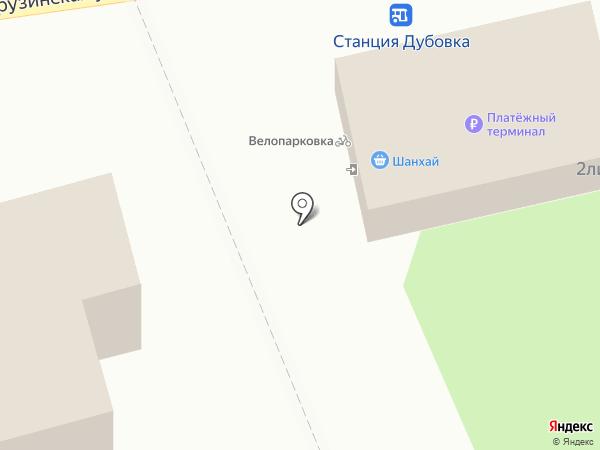 Шанхай на карте Воронежа