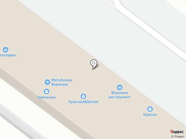 Красное & Белое на карте Новой Усмани