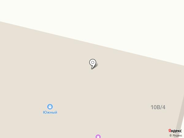 Южный на карте Новой Усмани