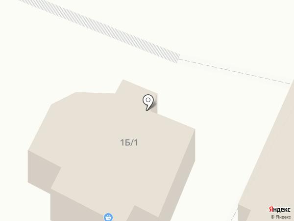 Черёмушка на карте Новой Усмани