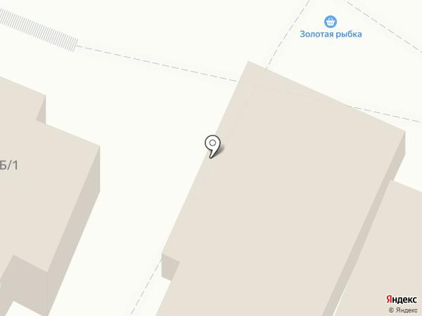 Киоск фастфудной продукции на карте Новой Усмани