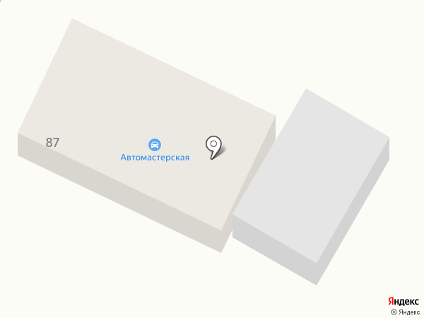 Автомастерская на карте Новой Усмани