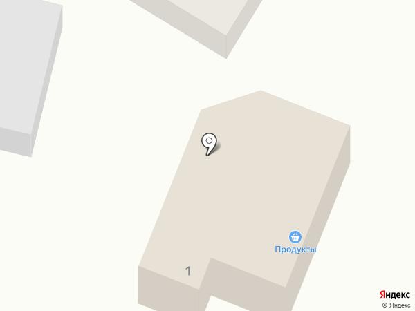 Продуктовый магазин на карте Новой Усмани