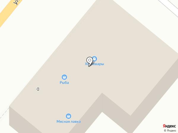 Стройдвор на карте Новой Усмани
