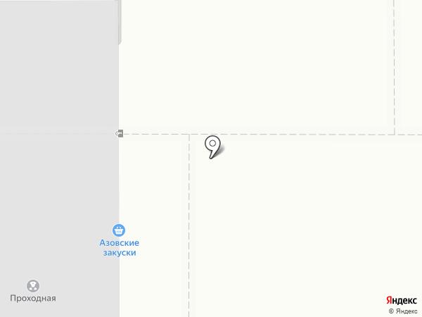 ДОНПРЕССМАШ на карте Азова