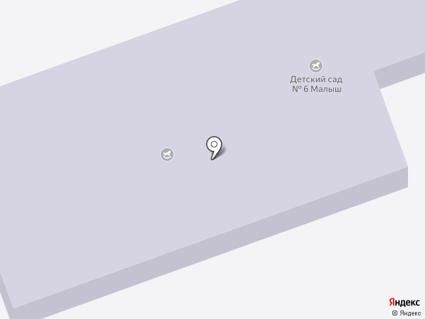 Детский сад №19, Ивушка на карте Азова