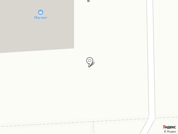 Меланж на карте Азова