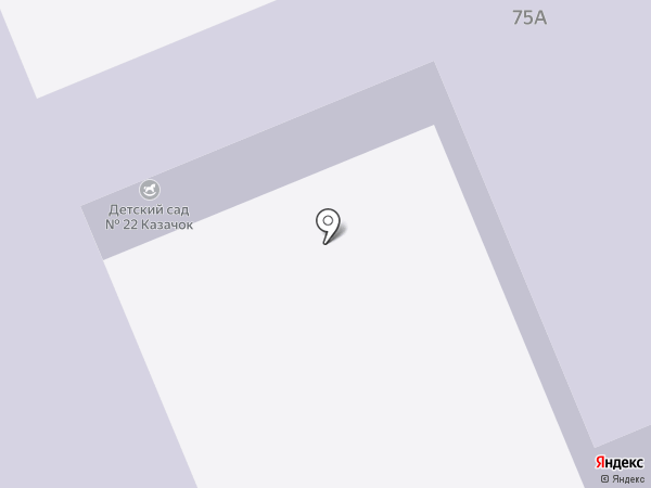 Детский сад №22 на карте Азова