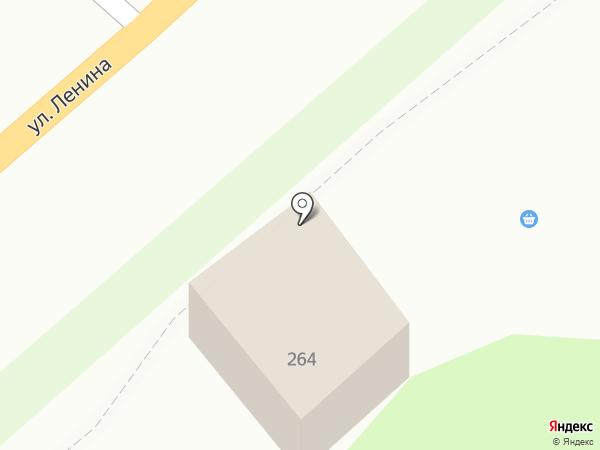 Киоск по продаже колбасных изделий на карте Новой Усмани