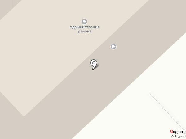 Администрация Новоусманского муниципального района на карте Новой Усмани