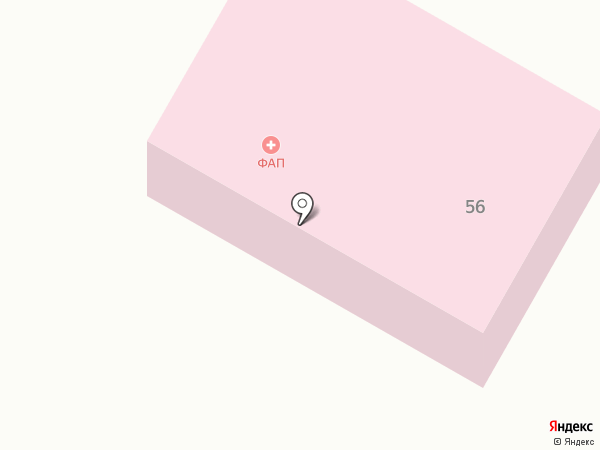 Медпункт на карте Косыревки
