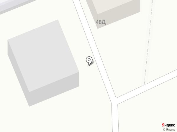 Любушка на карте Азова