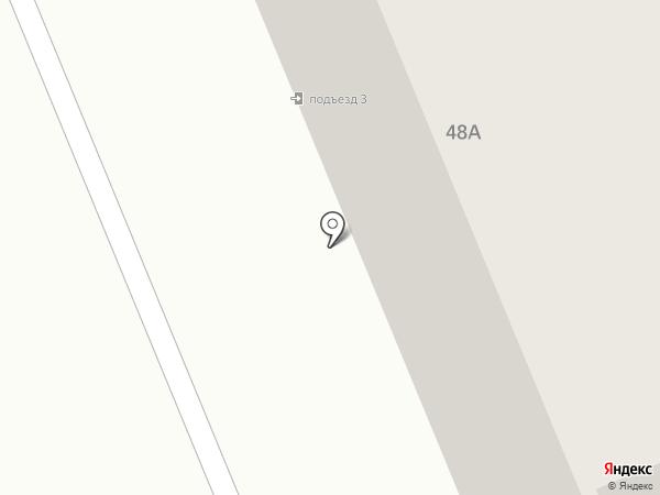 Петровское, ТСЖ на карте Азова