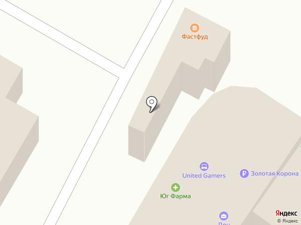 Юг-Фарма на карте Азова