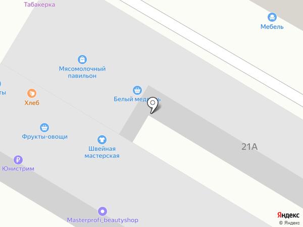 Ермолино на карте Азова