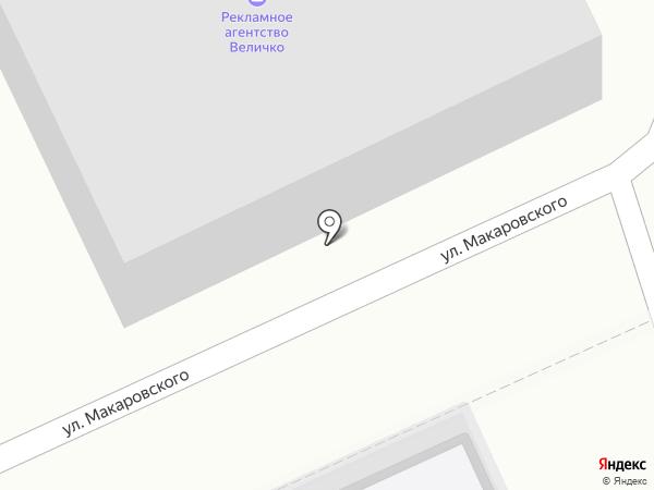 Величко на карте Азова