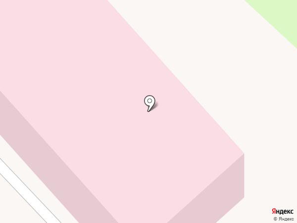 Центральная городская больница г. Азова на карте Азова