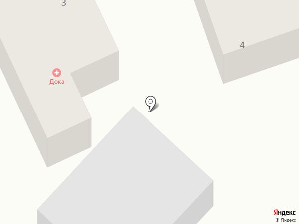 Док@ на карте Азова