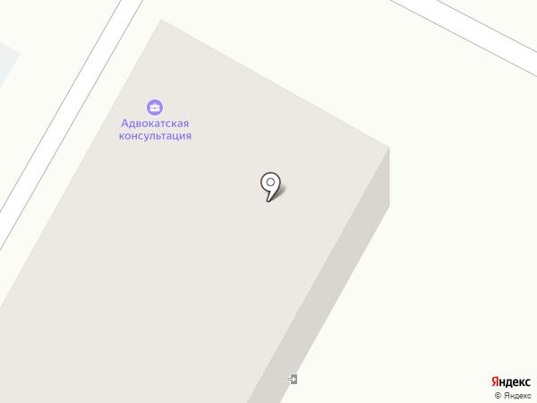Адвокатская консультация Новоусманского района на карте Новой Усмани