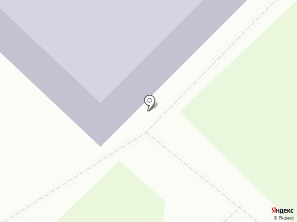 Средняя общеобразовательная школа №1 на карте Азова