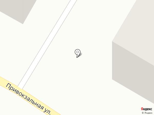 Город на карте Азова