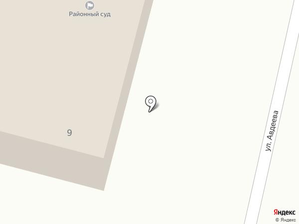 Новоусманский районный суд на карте Новой Усмани
