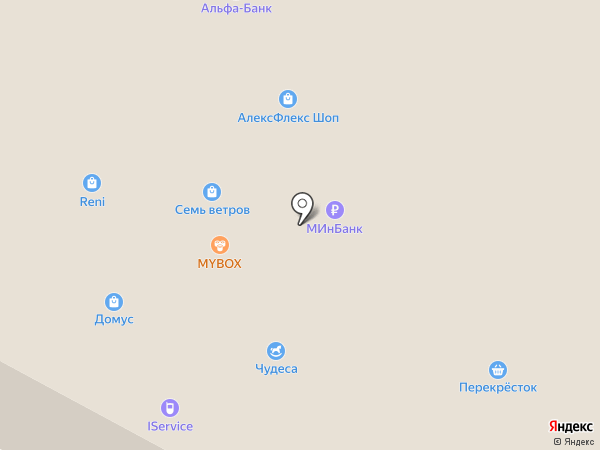 Тенториум на карте Азова