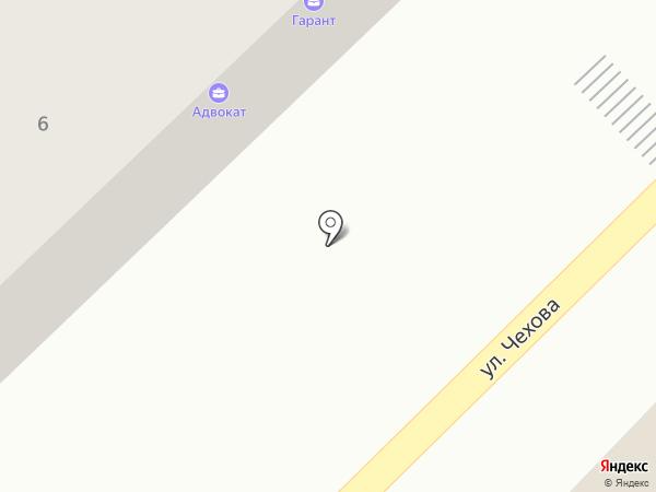 Гарант на карте Азова