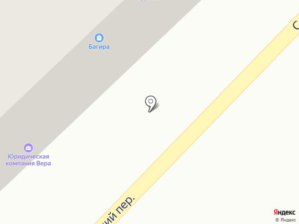 Одежкин на карте Азова