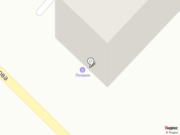 Ландыш на карте Азова